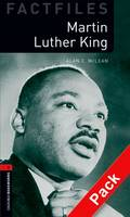 Oxford Bookworms Library Factfiles: Level 3: Martin Luther King: Oxford Bookworms Library Factfiles: Level 3:: Martin Luther King audio CD pack 1000 Headwords - Oxford Bookworms ELT