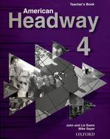 American Headway 4: Teacher's Book (Including Tests) (Paperback)