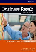 Business Result: Elementary: Student's Book with Online Practice: Business English you can take to work today - Business Result