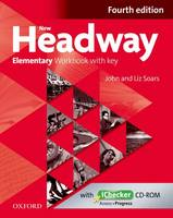 New Headway Elementary Workbook with Key & iChecker CD-ROM Pack - New Headway