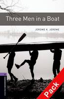 Oxford Bookworms Library: Level 4: Three Men in a Boat Audio CD Pack: Oxford Bookworms Library: Level 4:: Three Men in a Boat audio CD pack 1400 Headwords - Oxford Bookworms Library