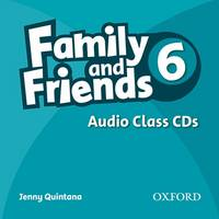 Family & Friends 6 Audio Class CD (CD-Audio)