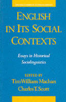 English in Its Social Contexts (Paperback)