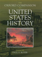 The Oxford Companion to United States History - Oxford Companions (Hardback)