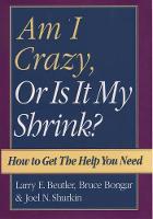 Am I Crazy, Or Is It My Shrink? (Hardback)