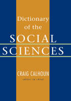 Dictionary of the Social Sciences (Hardback)