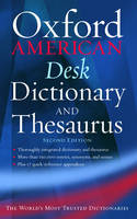 The Oxford American Desk Dictionary and Thesaurus (Hardback)
