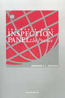 The World Bank Inspection Panel: In Practice (Hardback)