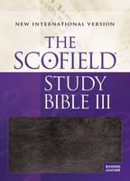 The Scofield (R) Study Bible III, NIV (Leather / fine binding)