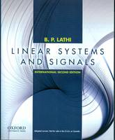 Linear Systems and Signals: International Edition (Paperback)