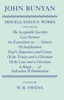 The Miscellaneous Works of John Bunyan: The Miscellaneous Works of John Bunyan: Volume XII - Oxford English Texts (Hardback)
