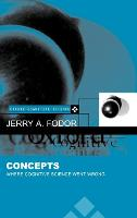 Concepts: Where Cognitive Science Went Wrong - Oxford Cognitive Science Series (Hardback)