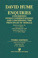 Enquiries concerning Human Understanding and concerning the Principles of Morals (Paperback)