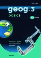 Geog.123: Geog.3 Basics: Geog.3 Basics Teacher's Book (Spiral bound)