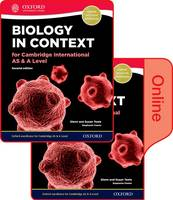 Biology in Context for Cambridge International as & A Level 2nd Edition: Print and Online Student Book Pack