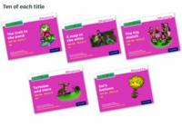 Read Write Inc. Phonics: Pink Set 3A Storybook Pack of 50 - Read Write Inc. Phonics