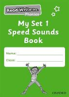 Read Write Inc. Phonics: My Set 1 Speed Sounds Book Pack of 5