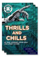 Project X Comprehension Express: Stage 3: Thrills and Chills Pack of 15 - Project X Comprehension Express