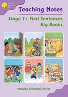 Oxford Reading Tree: Level 1+: First Words: Big Book Teaching Notes (Paperback)