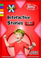 Project X: Year 2/P3: Interactive Stories CD-ROM Unlimited User (CD-ROM)