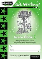 Read Write Inc. Phonics: Get Writing!: Green Book 1 (Paperback)