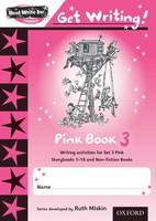 Read Write Inc. Phonics: Get Writing!: Pink 3 Pack of 10 - Read Write Inc. Phonics: Get Writing!