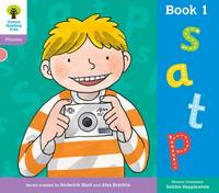 Oxford Reading Tree: Level 1+: Floppy's Phonics: Sounds and Letters: Book 1 - Oxford Reading Tree (Paperback)