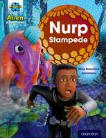 Project X: Alien Adventures: Turquoise: Nurp Stampede - Project X (Paperback)