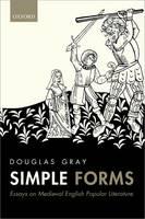 Simple Forms: Essays on Medieval English Popular Literature (Hardback)