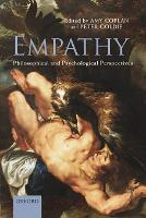 Empathy: Philosophical and Psychological Perspectives (Paperback)