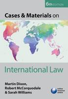 Cases & Materials on International Law (Paperback)