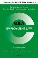 Concentrate Questions and Answers Employment Law