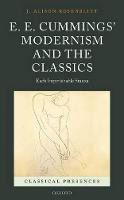 E. E. Cummings' Modernism and the Classics