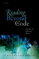 Reading Beyond the Code: Literature and Relevance Theory (Hardback)