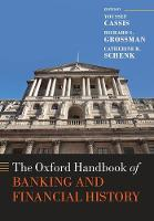 The Oxford Handbook of Banking and Financial History - Oxford Handbooks (Paperback)