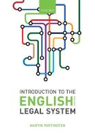 Introduction to the English Legal System 2018-19 (Paperback)