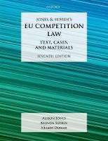 Jones & Sufrin's EU Competition Law