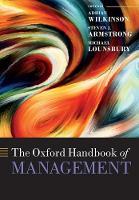 The Oxford Handbook of Management - Oxford Handbooks (Paperback)