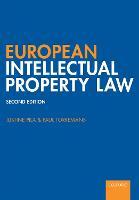 European Intellectual Property Law (Paperback)