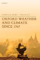 Oxford Weather and Climate since 1767 (Hardback)