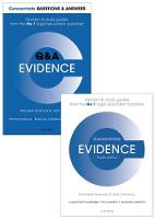 Evidence Revision Concentrate Pack