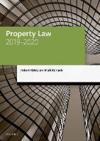 Property Law 2019-2020
