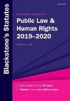 Blackstone's Statutes on Public Law & Human Rights 2019-2020 - Blackstone's Statute Series (Paperback)