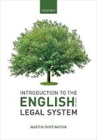 Introduction to the English Legal System 2019-2020 (Paperback)