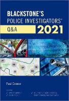 Blackstone's Police Investigators' Q&A 2021