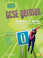 GCSE German for AQA Teacher Book & Copymaster on CD-ROM (CD-Audio)