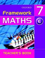 Framework Maths: Year 7 Extension Teacher's Book (Paperback)