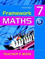 Framework Maths: Year 7 Support Teacher's Book: Support Teacher's Book Year 7 (Paperback)