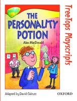 Oxford Reading Tree: Level 13: Treetops Playscripts: The Personality Potion (Paperback)