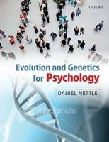 Evolution and Genetics for Psychology (Paperback)